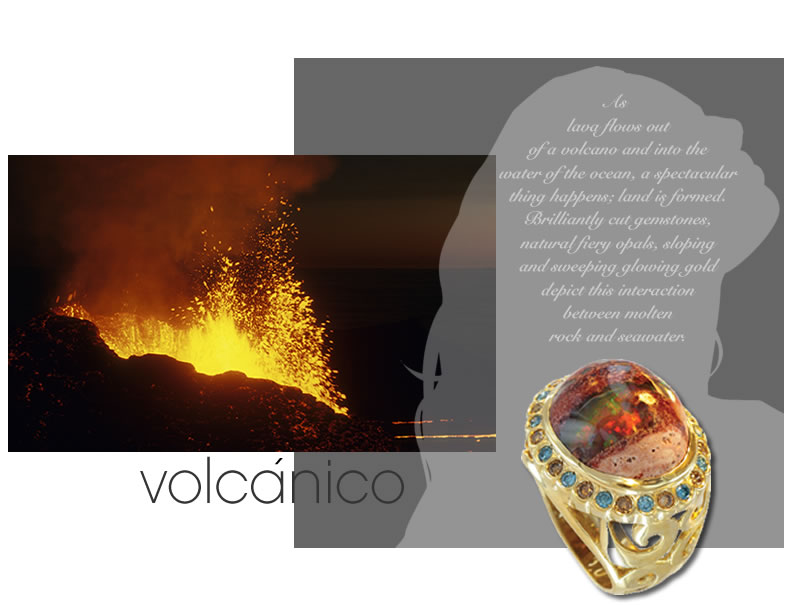18kt fine jewelry volcanico collection